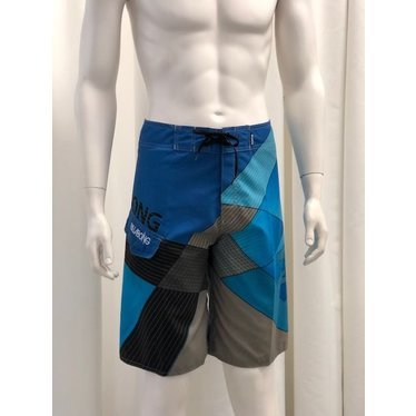 Boardshort Blue Square