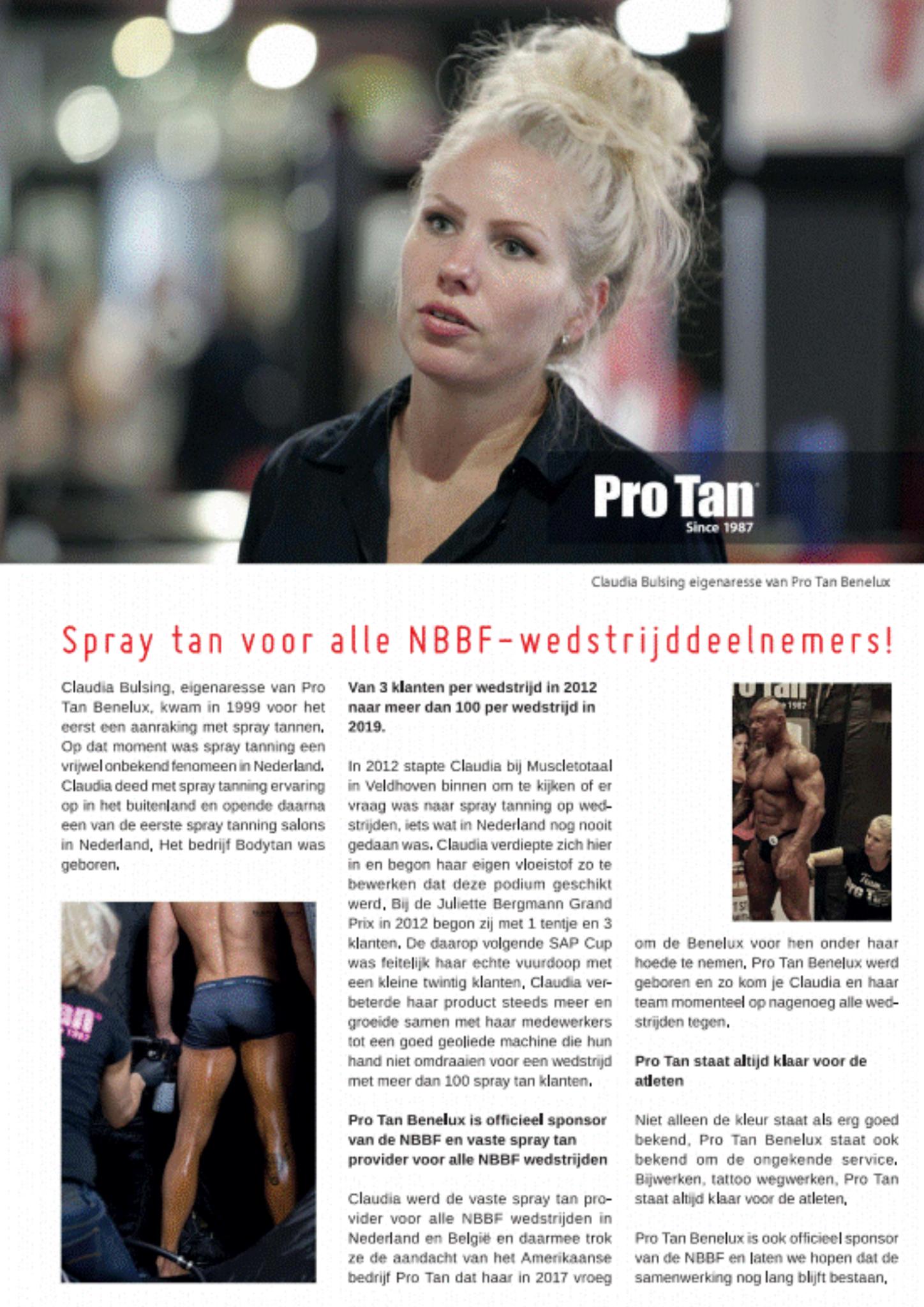 Pro Tan Benelux