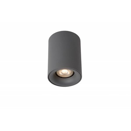 Design plafondspot LED wit, grijs rond 4,5W GU10