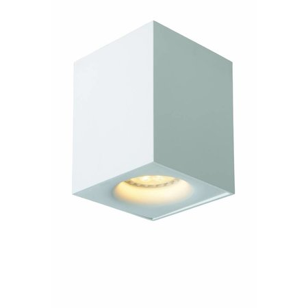 Design ceiling light LED white or grey square 4,5W GU10