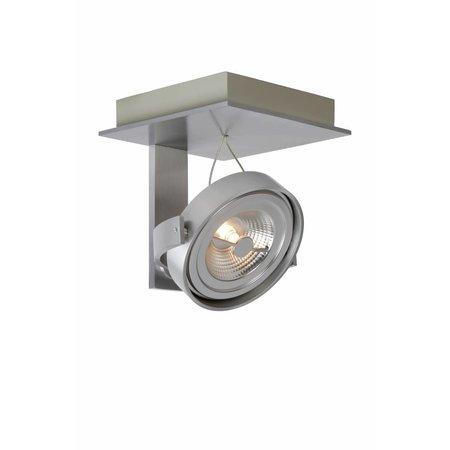 Plafondspot LED wit, grijs richtbaar AR111 12W