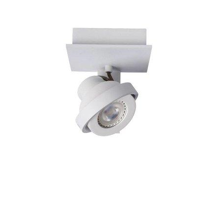 Design plafondspot wit of grijs GU10 LED 5W dim-to-warm