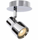 Badkamer plafondlamp LED wit of chroom GU10 4,5W