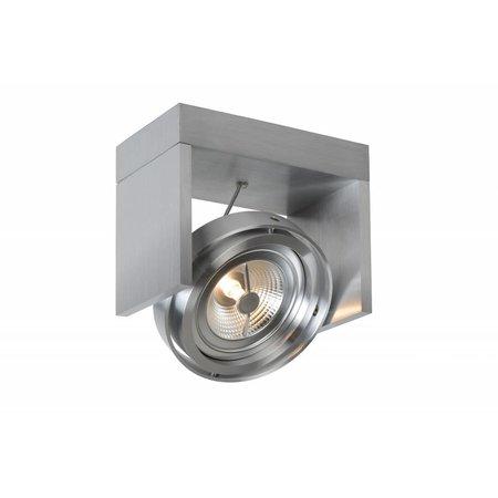 Ceiling light LED black, white, grey, wood AR111 12W