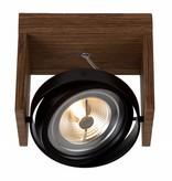 Spot plafond LED noir, blanc, gris, bois AR111 12W