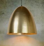 Hanging lamp gold dome 30 cm diameter E27