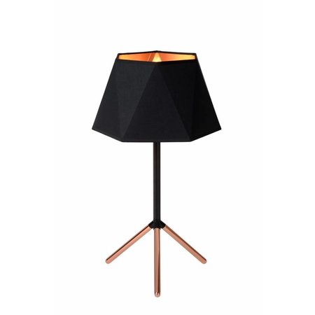 Design table lamp black gold lamp shade 32cm Ø