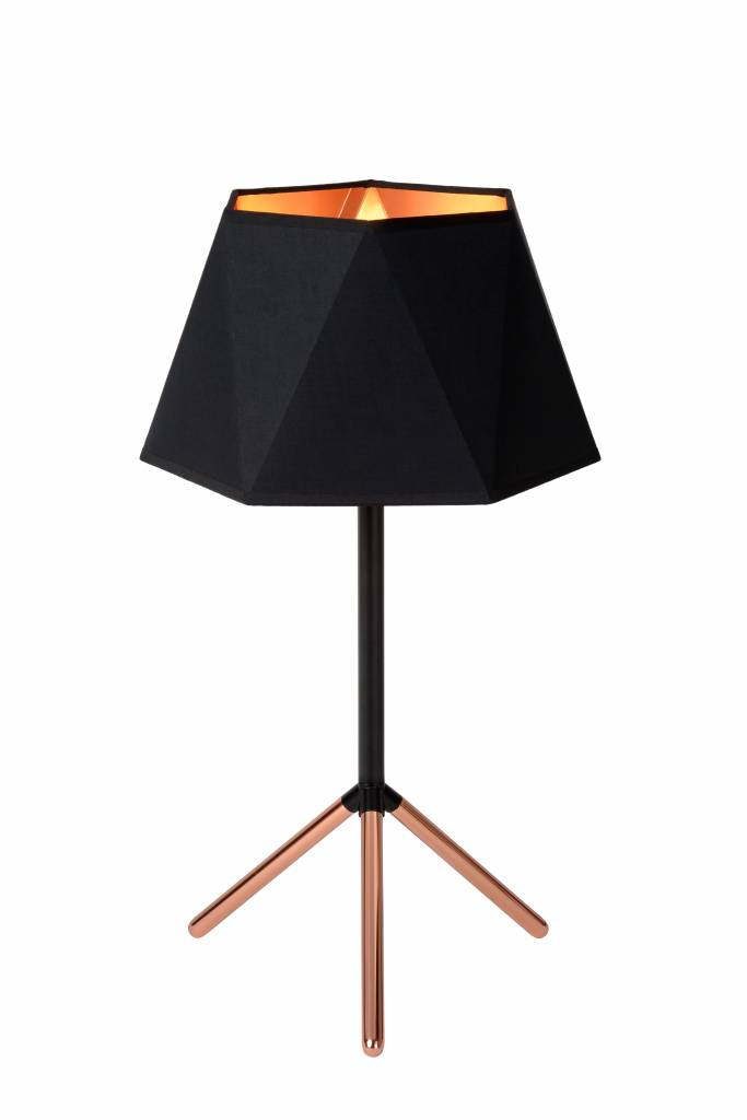 Design Table Lamp Black Gold Lamp Shade 32cm O Myplanetled