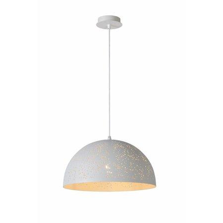 Hanglamp wit sfeer koepel 40cm diameter E27