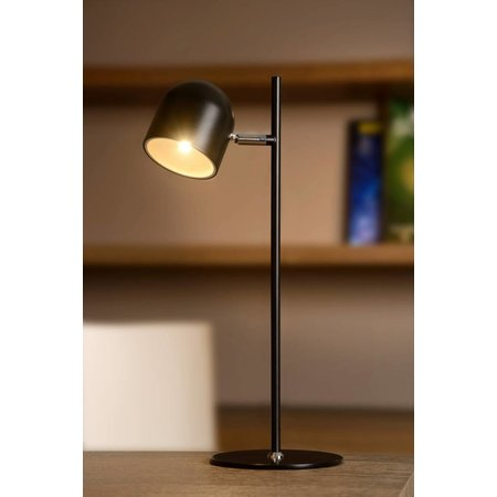 Bureaulamp Scandinavisch zwart, wit LED 5W