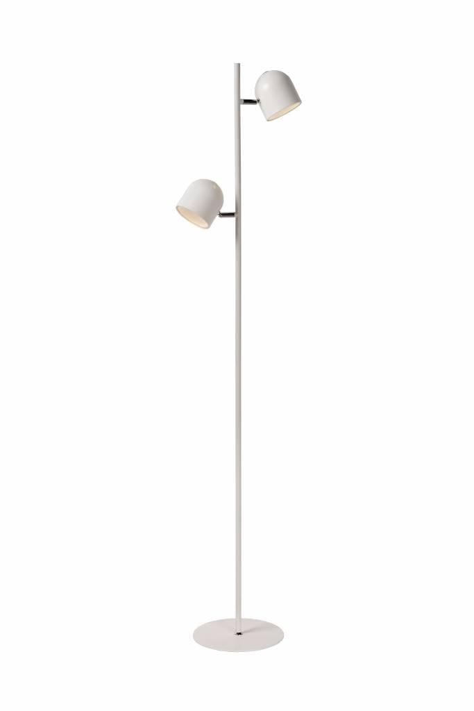 Nieuw Scandinavian floor lamp black, white LED 2x5W 141cm | Myplanetled XF-44