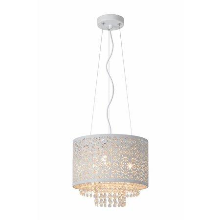 Kristallen hanglamp wit of zwart 315mm Ø G9x3