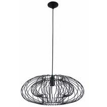 Hanglamp zwart geometrisch 500mm Ø E27