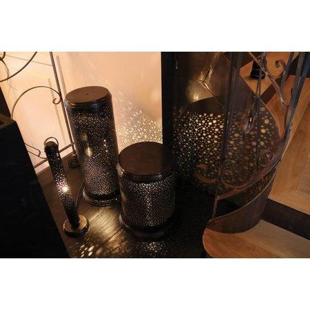 Exclusive light cylinder brass rustic bronze, nickel