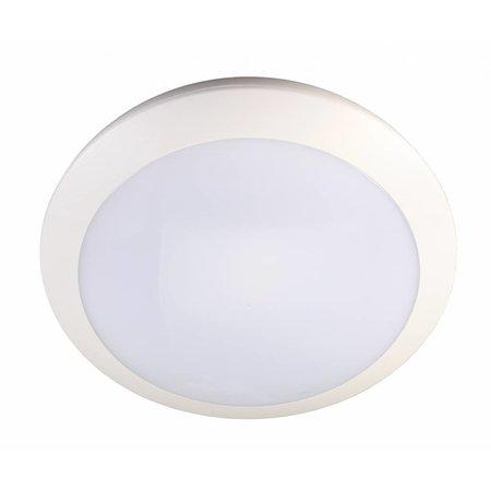 Plafonnier exterieur avec détecteur LED rond 16W