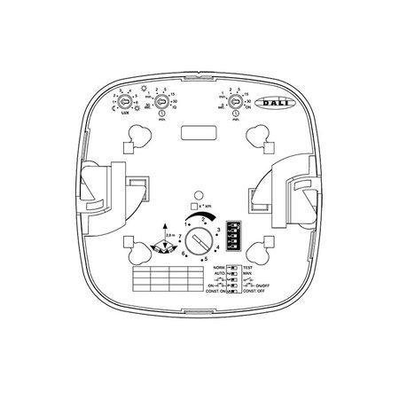 Presence detector 1-10V dimmable inside