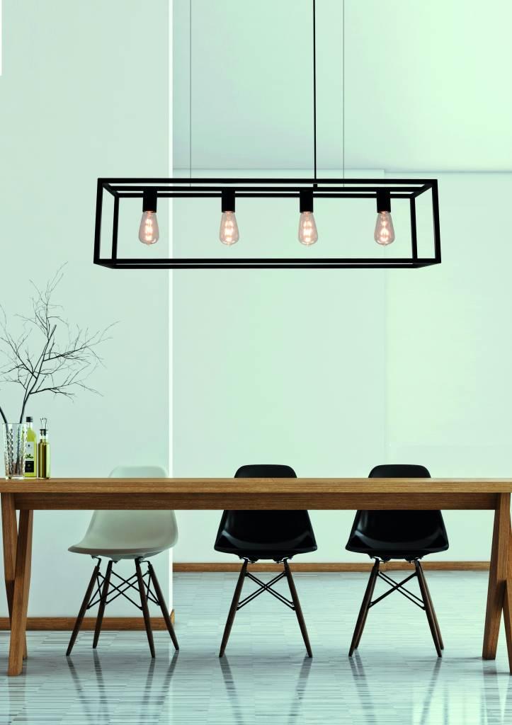 Wat is de aangewezen hoogte van een lamp boven de tafel?