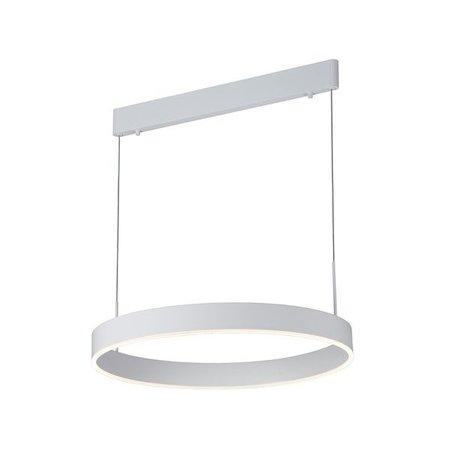 Hanglamp design LED rond bruin, zwart, wit 22W 571mm Ø