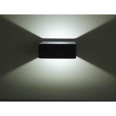 Applique murale design exterieure LED 5W graphite IP54 120