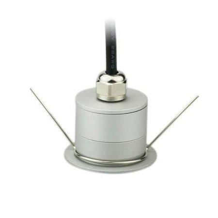 Kleine inbouwspot LED 3W IP67 30° rond