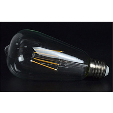 Lampe sphérique LED longue filament dimmable 4W