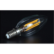 Lampe bougie filament LED 3,5W