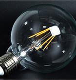 LED lamp E27 rond 6W filament