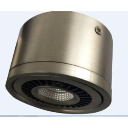 Design plafondspot driverless wit, zwart 360° 7W