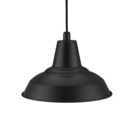 Retro pendant black E27