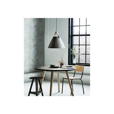 Scandinavische lamp wit, zwart, grijs 36 cm Ø