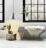 Nordic style lighting white, black, brass, grey 36 cm Ø