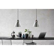 Nordic style lighting white, black, grey 36 cm Ø
