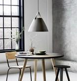 Scandinavische hanglamp wit, zwart, grijs 48 cm Ø