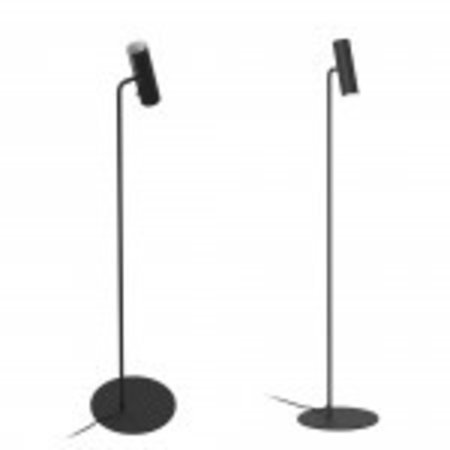 Lampe liseuse sur pied GU10 noire ou blanche
