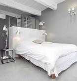Vloerlamp dimbaar zwart of wit E27