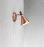 Scandinavische wandlamp GU10 koper of grijs