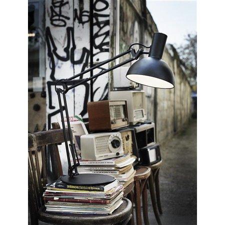 Lampe d'architecte E27 blanc ou noir
