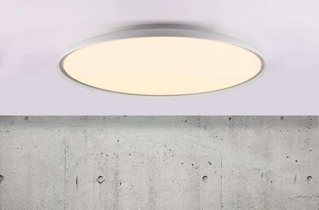 Flat Ceiling Light Led Round 41 Cm Ø Or