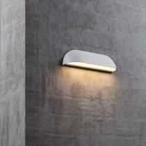 Gevelverlichting buiten LED breed wit of zwart 8W of 12W