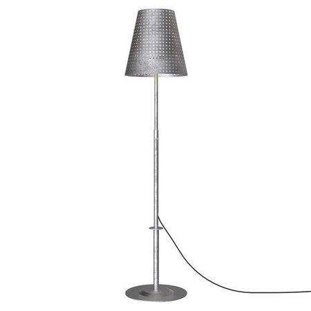 Terrace lamp galvanized 129-165 cm E27 IP44