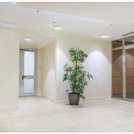 LED paneel plafond opbouw rond 18W 225mm diameter wit