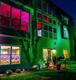 RGB LED floodlight 50W