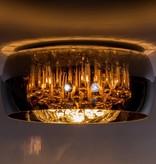 Kristallen plafonniere glas 40cm Ø of 50cm Ø