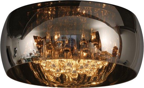 Kristallen Plafonniere : Kristallen plafonniere glas 40cm Ø of 50cm myplanetled