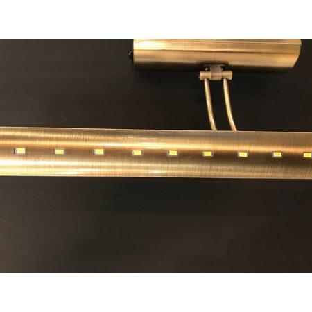 Eclairage tableau LED bronze ou gris 10W 555mm