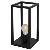 Rustic buffet lamp black, copper or ruggine E27