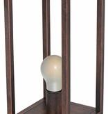 Rustic buffet lamp black, copper or ruggine E27