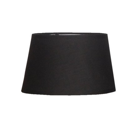 Lamp shade fabric black round 200mm wide for ARM-288