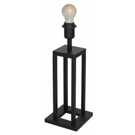 Buffet table lamp black E27