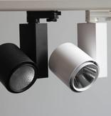 Shop lighting LED track spot 20W Ra> 90